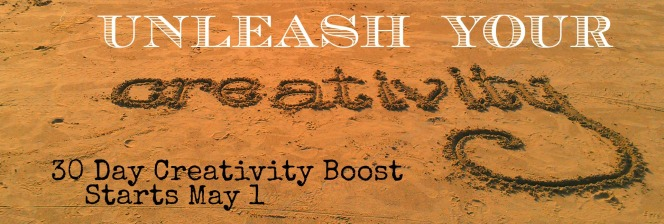 Sign up for the 30 Day Creativity Boost creativity challenge  https://findyourdelight.com/30-day-creativity-boost-sign-up