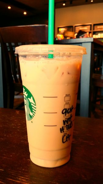 Creativity Boost Day 2 - Starbucks iced chai. If you want to commit to: boosting, increasing, embracing, developing, cultivating and finally making time for your creativity, take the 30 Day Creativity Boost creativity challenge! Find info and sign up here: https://findyourdelight.com/30daycreativityboost.