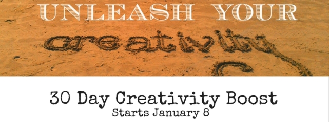 Sign up for the 30 Day Creativity Boost, a 30 day creativity challenge dedicated to boosting, increasing, embracing, developing, cultivating and making time for creativity. Sign up at https://findyourdelight.com/30daycreativityboost