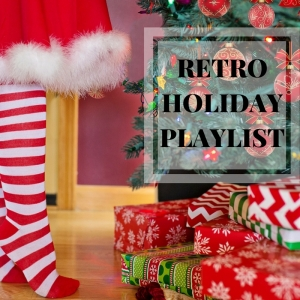 Retro holiday playlist - a retro inspired playlist with music for your holiday party or Christmas gathering (and maybe even swanky cocktails)