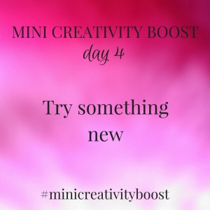 The Mini Creativity Boost is a taster of the 30 Day Creativity Boost, a 30 day creativity challenge. Find more info and sign up at https://findyourdelight.com/30daycreativityboost